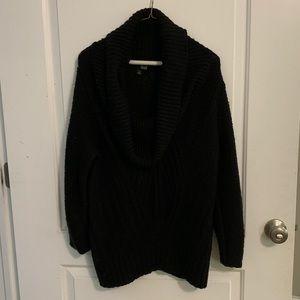 a.n.a Black cowl neck sweater, XL